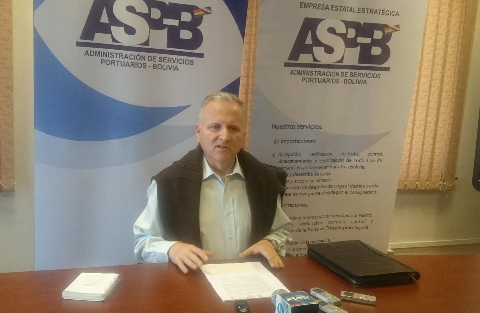 ASPB confirma arribo de nueva carga boliviana al puerto de Ilo