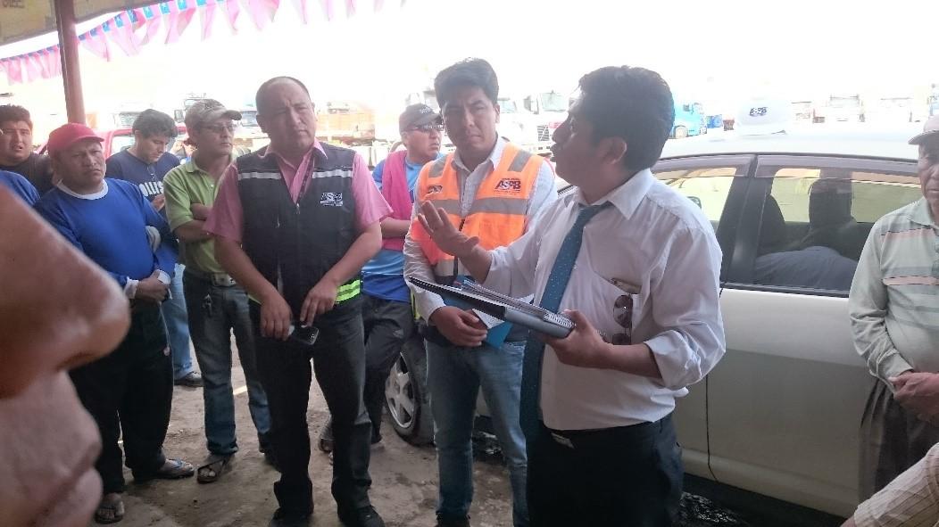 ASP-B Realiza gestiones para evitar retrasos con la Carga Boliviana en Arica