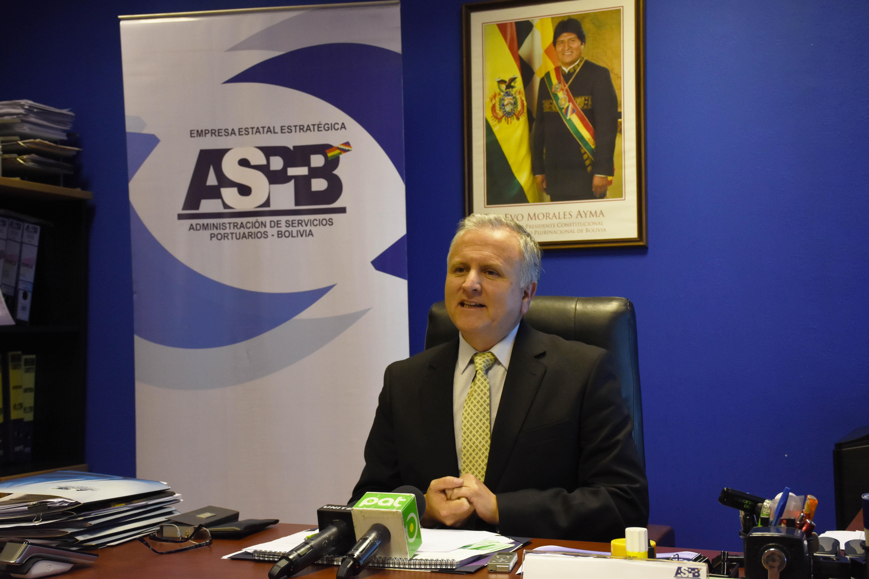 ASP-B confirma arribo de nueva carga boliviana al puerto de Ilo