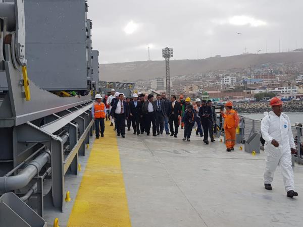 Prevén reunión en diciembre para proyectar movimiento de carga boliviana por Ilo en 2019