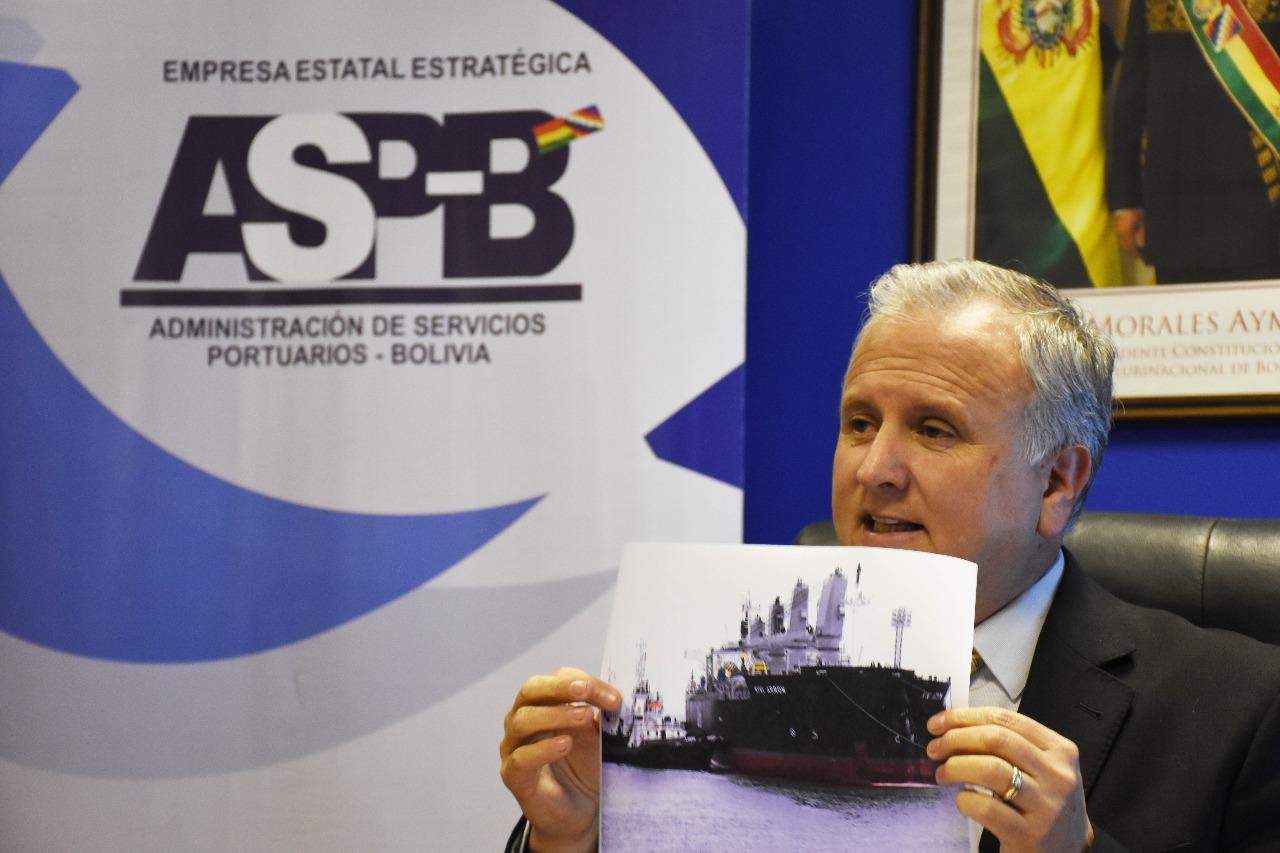 Bolivia proyecta triplicar movimiento de carga en 2019 por puerto de Ilo