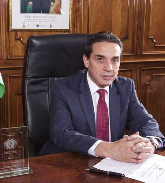 Ministro de Economía y Finanzas Públicas de Bolivia