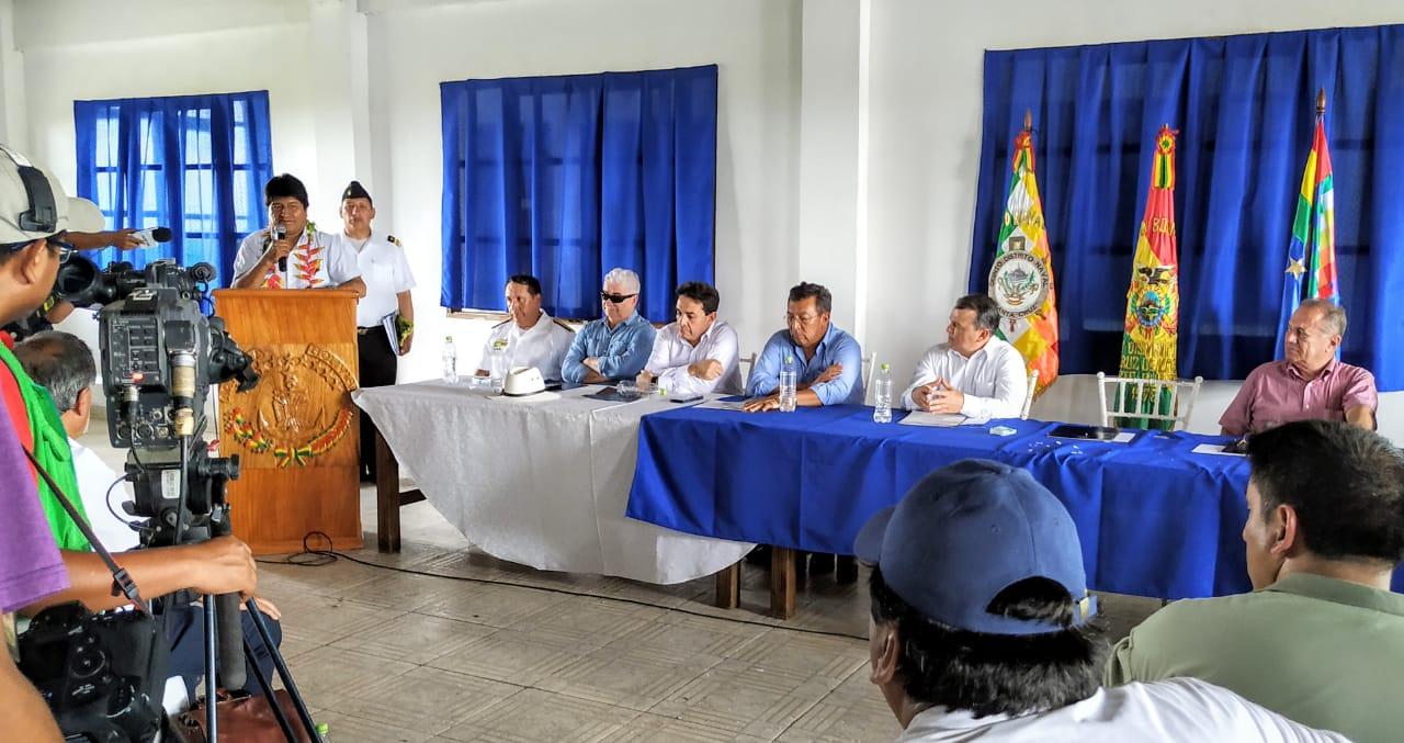 Gobierno firma alianza con empresarios para desarrollo de Puerto Bush