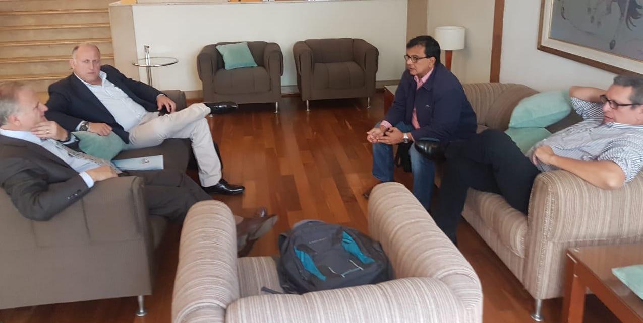 ASP-B se reúne con autoridades del Paraguay para impulso de alternativas portuarias