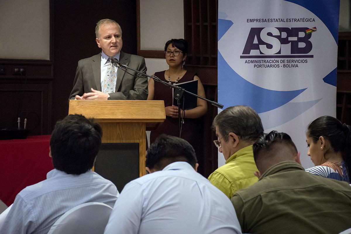 ASP-B comprometida en la movilización de carga boliviana por la Hidrovía Paraná – Paraguay