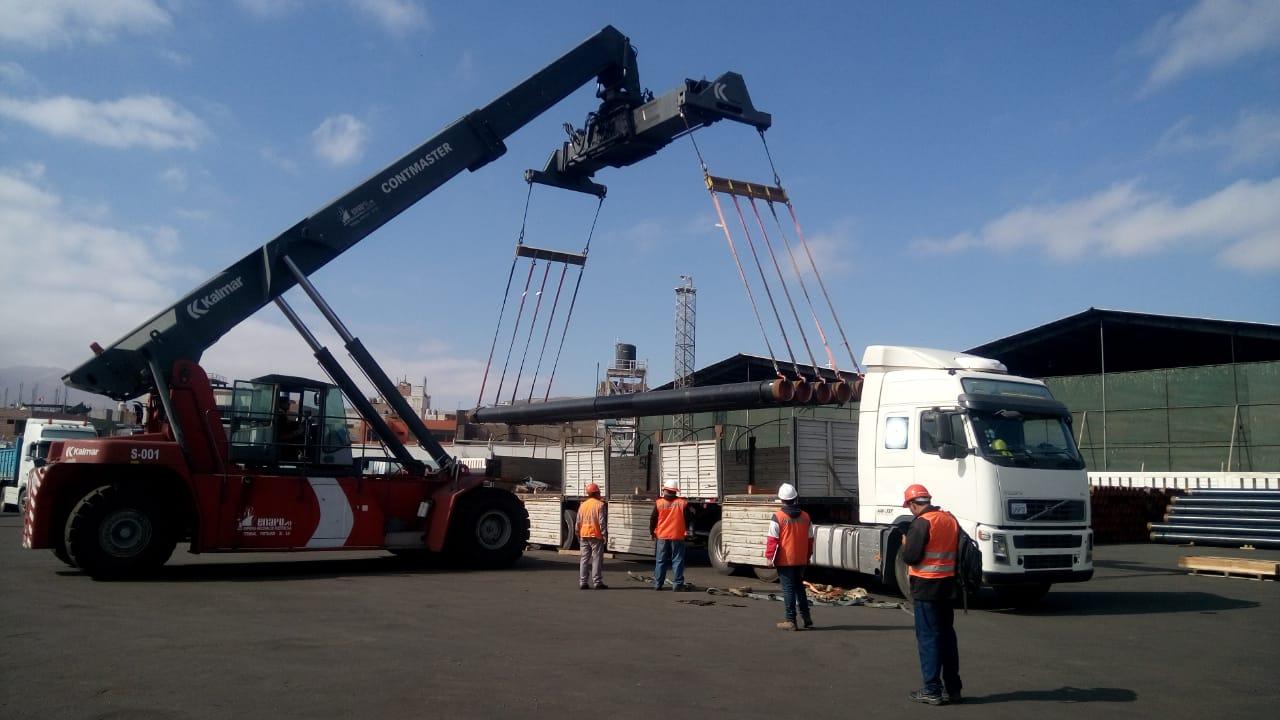 20 de cada 100 mercancías que llegaban a Arica migraron al puerto de Ilo