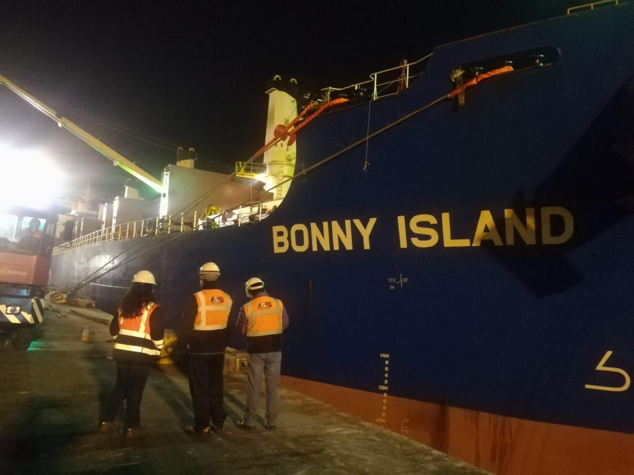 ASP-B: Ilo recibe 10 Mil Tn de carga boliviana