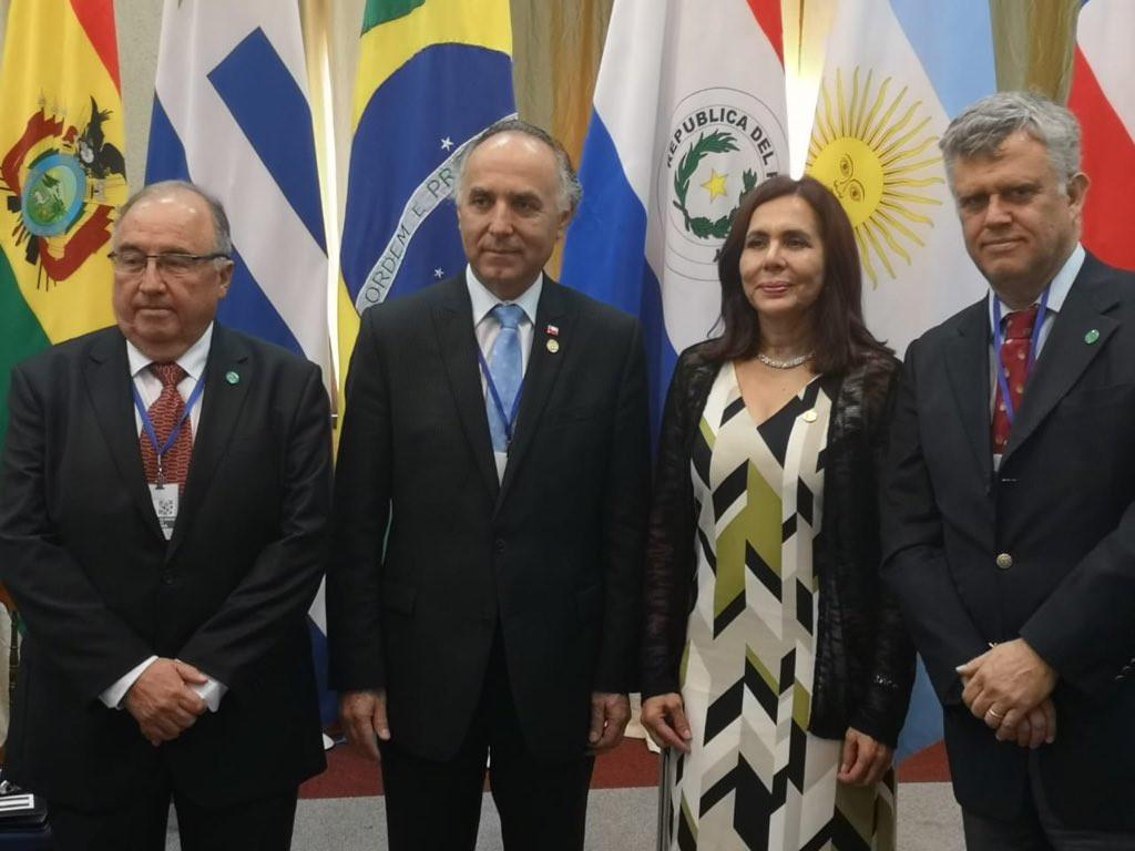 Cancilleres de Bolivia y Chile se reúnen y hablan de la situación regional y desafíos comunes