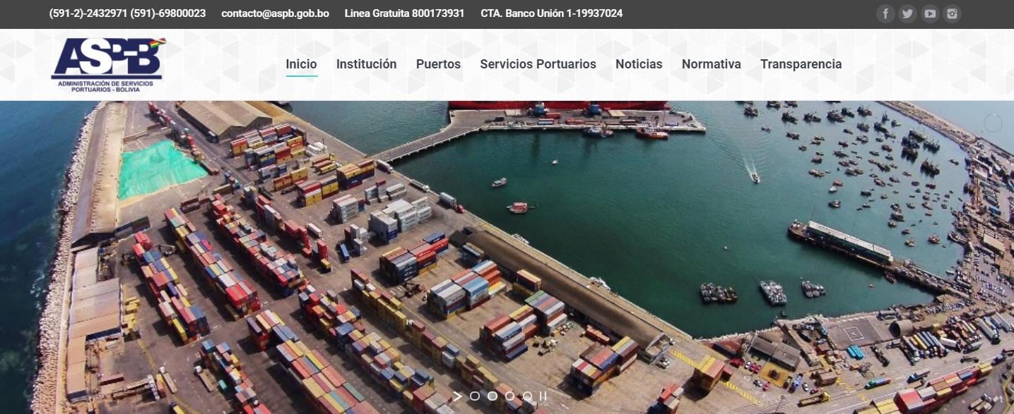 ASP-B: Trámites para importación y exportación por vía marítima se los realiza vía online