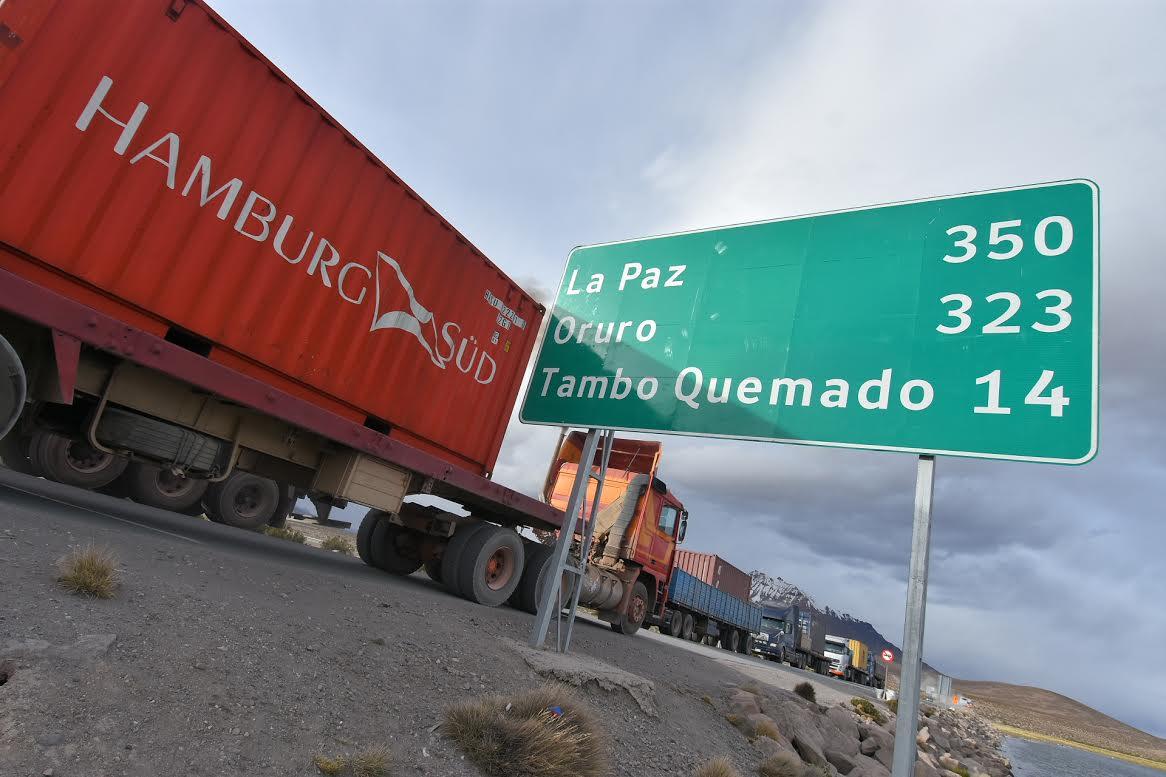 ASP-B garantiza flujo de carga en frontera con Chile, tras reclamo de transportistas