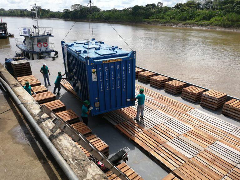 Presidente Luis Arce identifica a la Hidrovía Ichilo-Mamoré como conexión fluvial para el desarrollo
