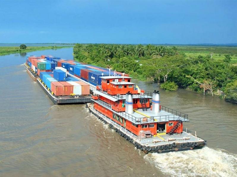 Presidente Luis Arce, impulsará el proyecto de hidrovía Paraguay – Paraná