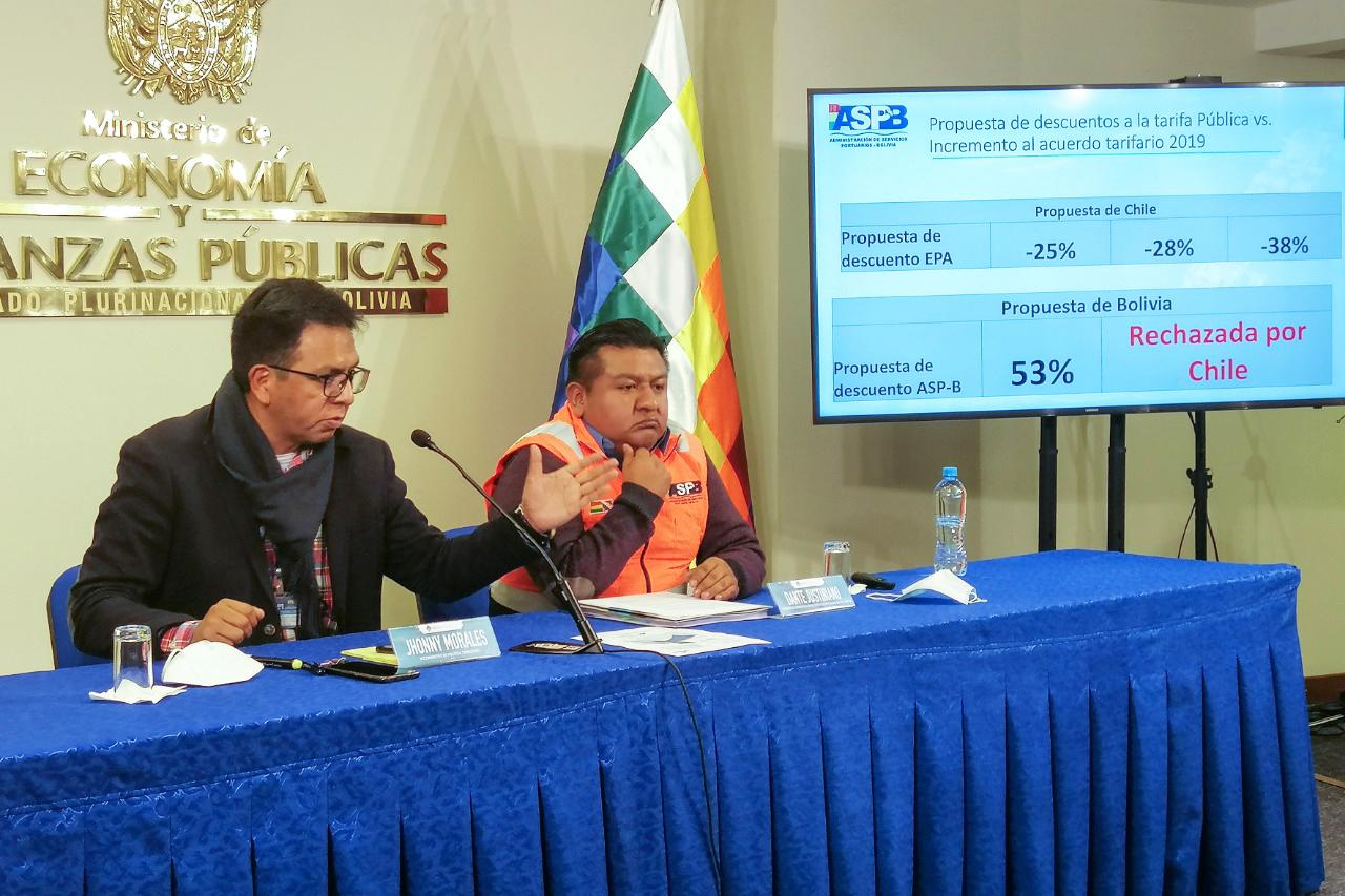 ASP-B rechaza propuesta de la Empresa Portuaria de Arica y No acepta imposiciones tarifarias de Chile