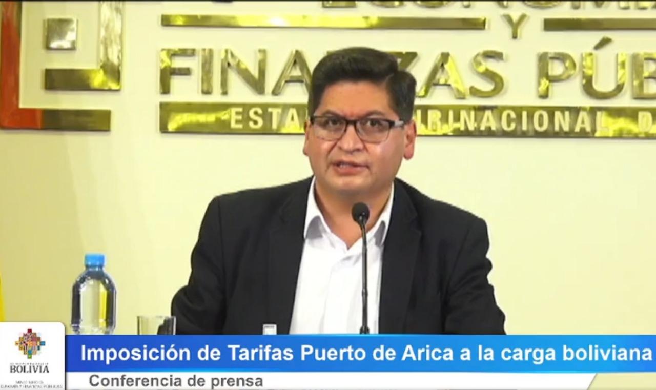 Gobierno demanda diálogo a chilena EPA y tiempo para tratar nuevas tarifas portuarias en Arica