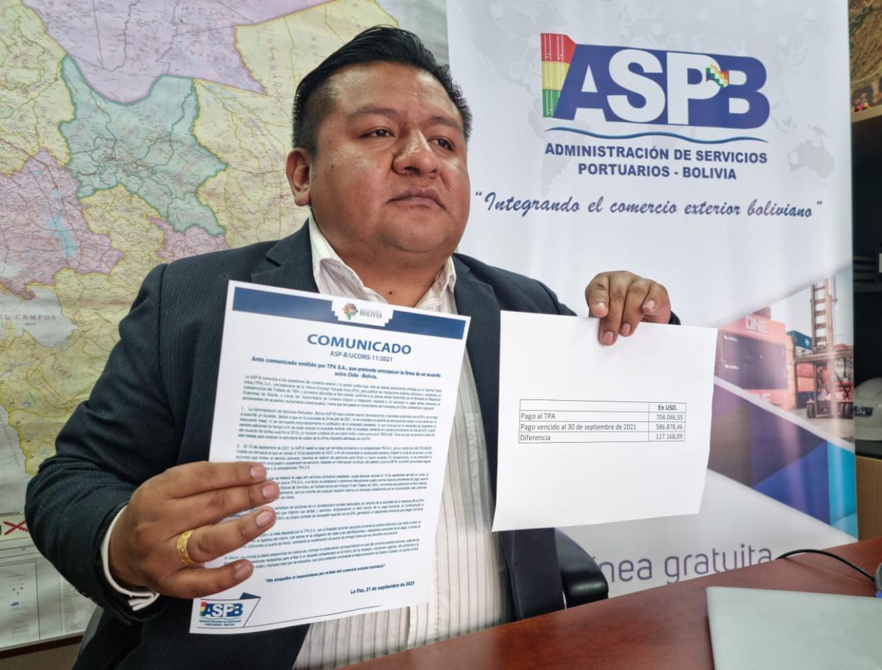 Instan a empresarios a migrar de Arica a otros puertos hasta superar conflicto con chilena EPA